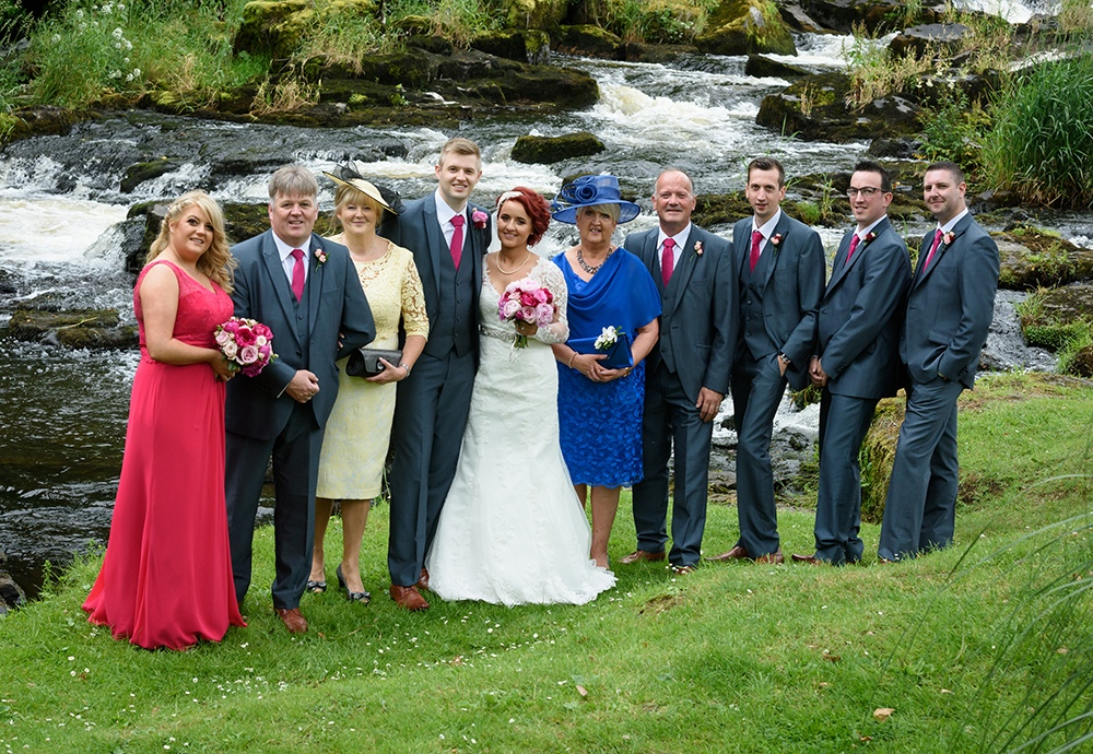 Lauren & Matthews Galgorm Resort & Spa Wedding