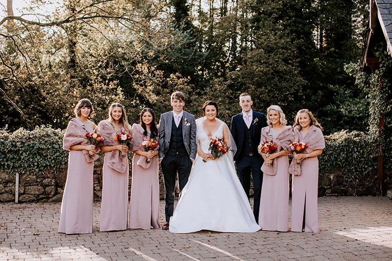 Alex & Jamies Galgorm Spa & Golf Resort Wedding