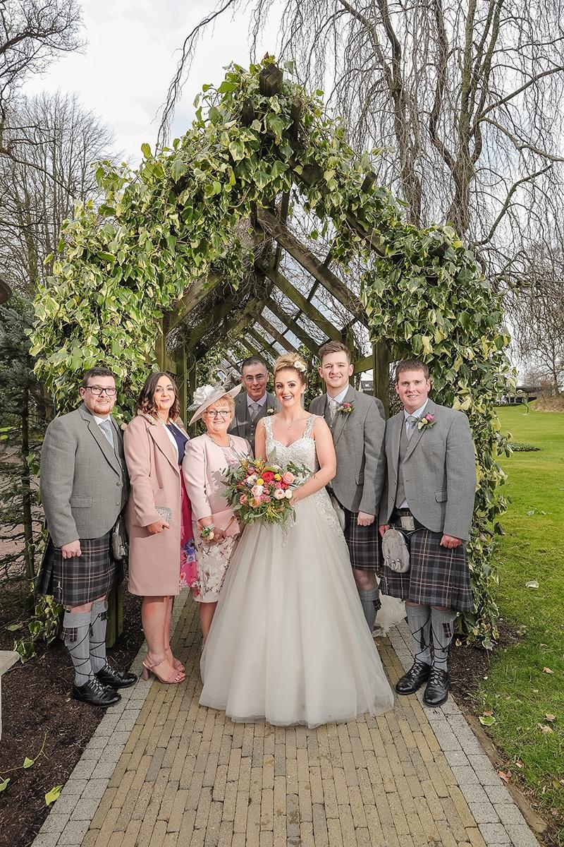 Catherine & Conors Galgorm Resort & Spa Wedding