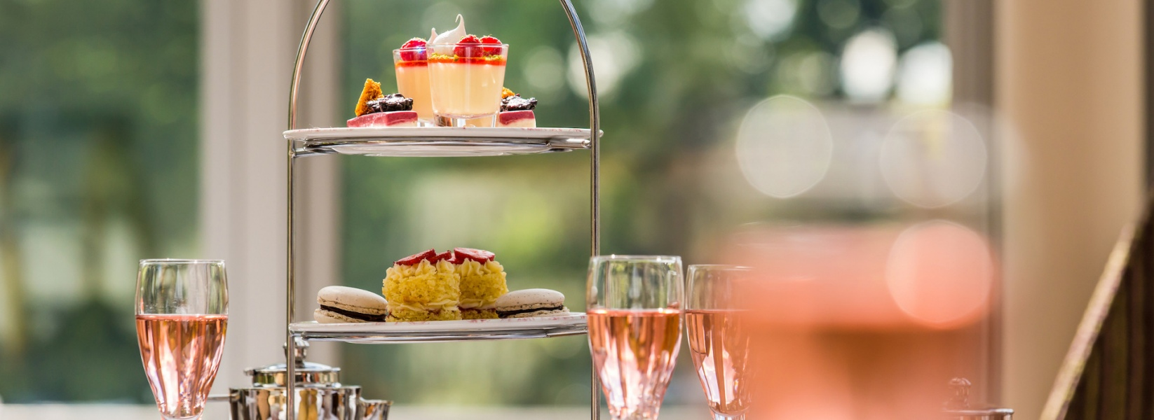 Champagne Afternoon Tea For Two Gift Voucher
