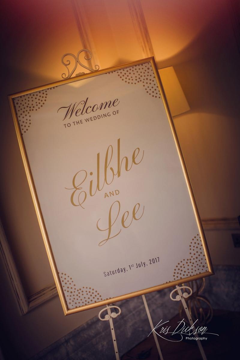 Eilbhe & Lees Galgorm Spa & Golf Resort Wedding