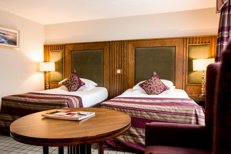 Standard Twin Room Galgorm Resort Amp Spa