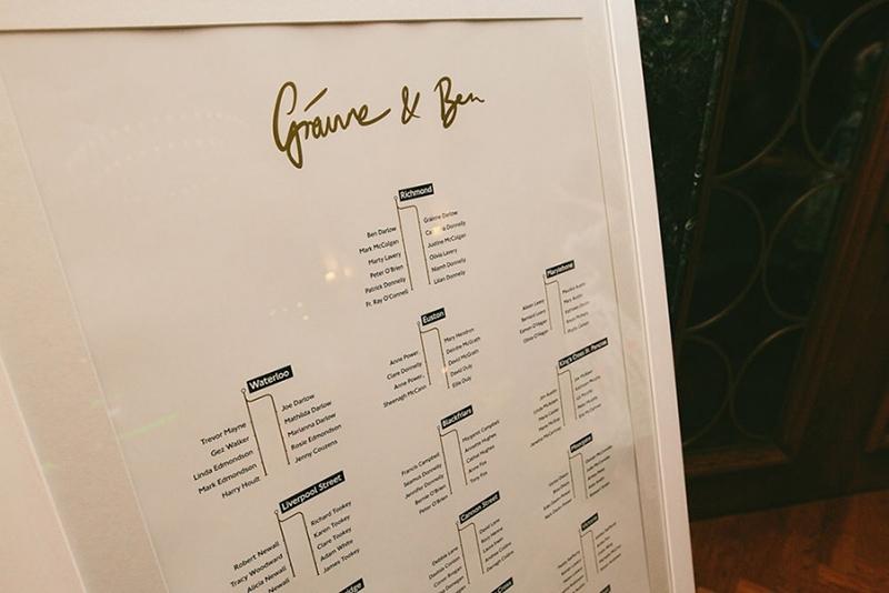 Grainne & Bens Galgorm Spa & Golf Resort Wedding