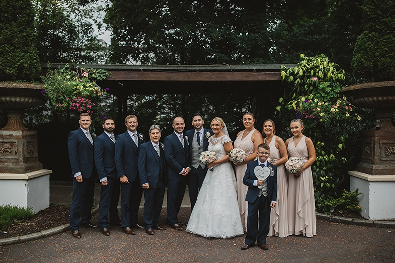 James & Claires Galgorm Resort & Spa Wedding