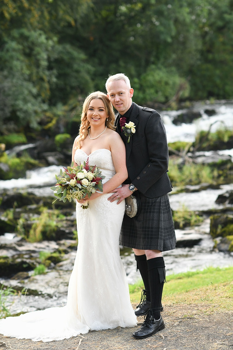 Lauren & Barrys Galgorm Spa & Golf Resort Wedding