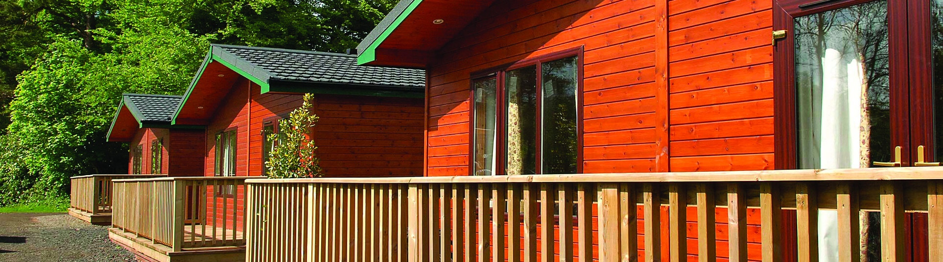 Riverside Log Cabin 5 berth