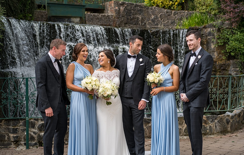 Louise & Ciarans Galgorm Resort & Spa Wedding