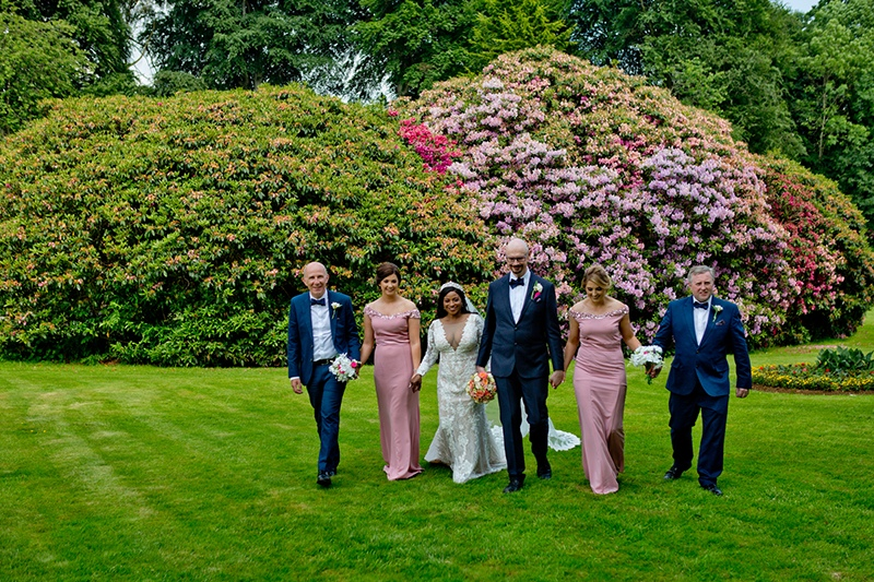 Rachael & Damians Galgorm Resort & Spa Wedding