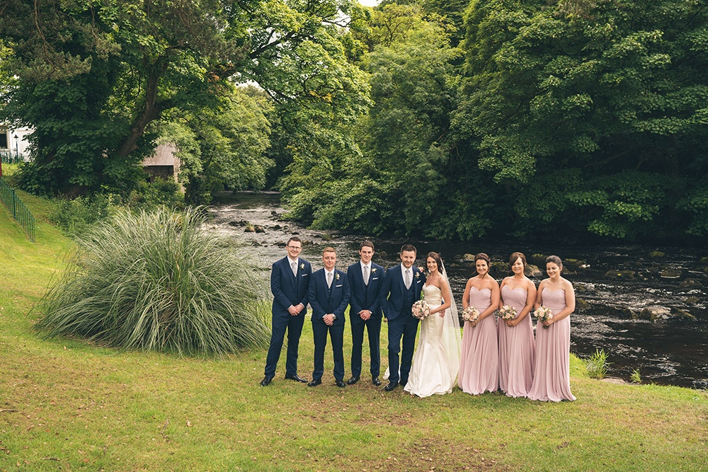Melissa & Stevens Galgorm Resort & Spa Wedding